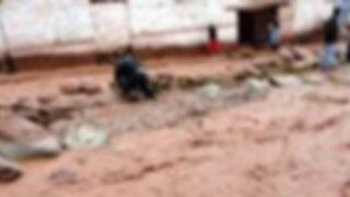 Ancash: desborde del río Huarmey inunda al menos 200 viviendas de un AA.HH.