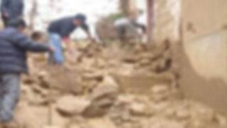 Áncash: continua búsqueda de desaparecidos tras alud en provincia de Pallasca
