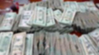 Policía incauta más de 5 millones de dólares falsos que iban ser enviados a EEUU