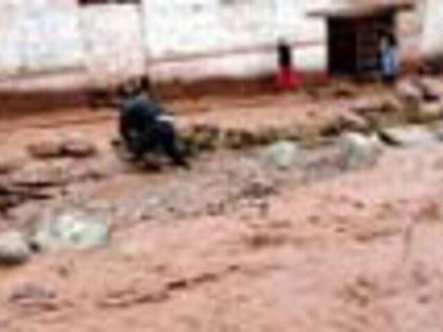 Tres muertos y un desaparecido deja desborde de río en Junín