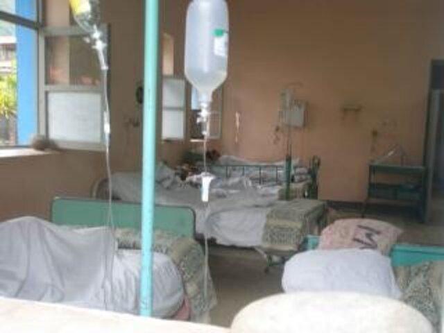 Intoxicados por derrame de formal en el hospital Honorio Delgado de Arequipa