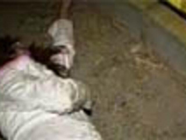 Mujer murió atropellada por vehículo de transporte público en VMT