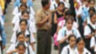 Escolares retornaron a las aulas después de 34 días por huelga del Sutep