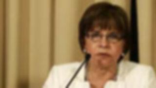 Exministra Cabanillas pide corregir ley sobre textos escolares antes de promulgarse