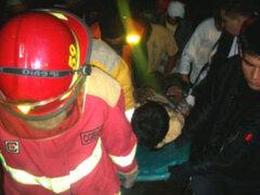 La Libertad: triple choque vehicular deja tres muertos y varios heridos