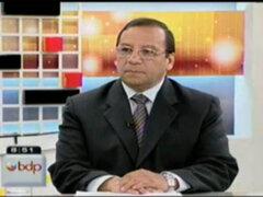 Kurt Burneo descarta una gran farra fiscal durante el próximo gobierno de Ollanta Humala