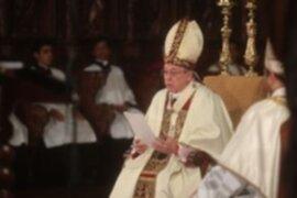 Monseñor Cipriani critica a municipio de Lima por ordenanza a favor de la libertad sexual