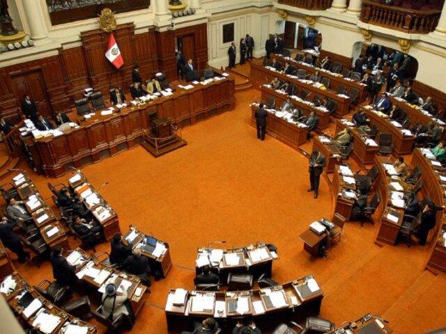 Congresistas suspenden debate sobre la reforma del Código Penal