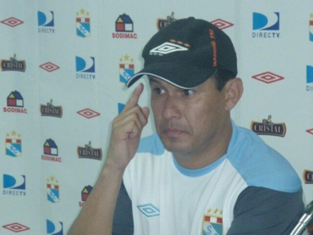 Juan Reynoso está conforme con que sea Víctor Rivera quien arbitre el encuentro con Alianza