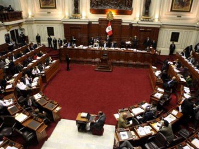 Gana Perú dialogará con diferentes bancadas para lograr implementar propuestas