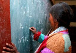 Al menos 16 departamentos del país se beneficiaron con campañas de alfabetización, afirman