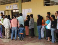 Al menos 448 mil electores huanuqueños sufragarán mañana