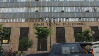 JNE anunciará primer reporte de incidencias de la jornada electoral luego del medio día