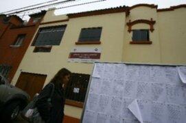 JEE resolvieron el 95.86% de las actas en todo el Perú