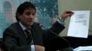 Renzo Reggiardo: Intereses político-partidarios impiden formar bancada de concertación