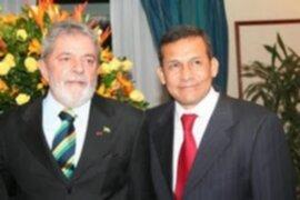 Lula Da Silva: Gobierno de Humala no estará bajo el fantasma de Hugo Chávez