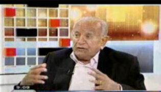 Amplia entrevista con el destacado hombre de Tv. Humberto Martínez Morosini