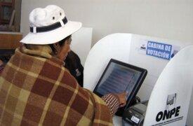 ONPE resalta éxito de Voto electrónico presidencial en segunda vuelta electoral