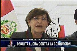 Regidor de Lima Alberto Valenzuela calificó de perjudicial revocatoria de Susana Villarán