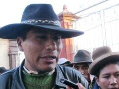 Aduviri niega pretensiones de boicotear Convención Minera en Arequipa