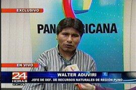 El saludo del líder aimara Walter Aduviri a los padres del Perú por su día