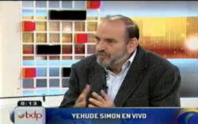 Yehude Simon: Antauro Humala está abusando de su condición de hermano del presidente