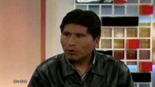 """Walter Aduviri es virtual gobernador regional en Puno pero está prófugo por caso """"Aimarazo"""""""
