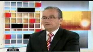 Alejandro Aguinaga: Toledo debe exigir a Humala que aclare situación de su hermano Alexis