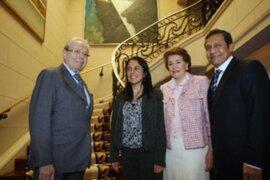 Presidente electo Ollanta Humala cambió de agenda y visitó a Pérez de Cuéllar