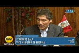 Viceministro de Minas Fernando Gala expuso propuesta al pueblo aimara