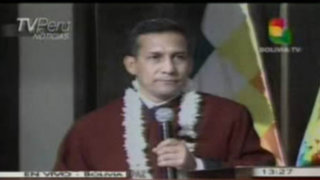 Ollanta Humala: Tenemos un compromiso con el pueblo no con los poderes económicos