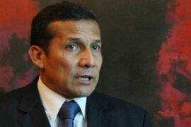 Ollanta Humala desautorizó afirmaciones de su vicepresidenta Marisol Espinoza