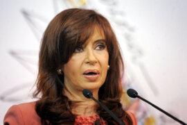 Mandataria argentina Cristina Fernández se comunicó con Hugo Chávez
