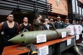 Dirección Antidrogas de la Policía incautó 113 kilos de cocaína en el Callao