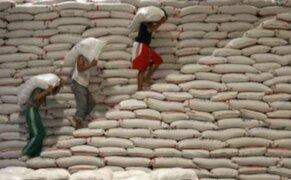 Agricultores piuranos muestran su preocupación por la baja en el precio del arroz