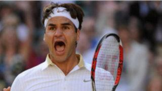 Tenistas Federer y Nalbandian jugaran este sábado en Wimbledon