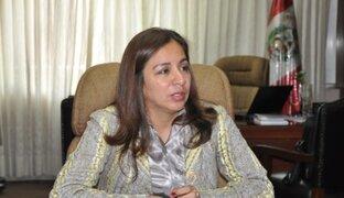 Marisol Espinoza: Gobierno respetará decisión final sobre amnistía a Antauro Humala