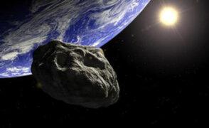 Reportan que un asteroide pasó cerca de la tierra sin causar daños