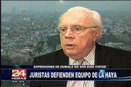 Juristas se pronuncian sobre los posibles cambios del equipo peruano en la Haya