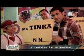Dónde esta el ganador de los 14 millones soles que sorteó la Tinka?