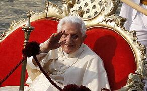 Papa Benedicto XVI envió su primer mensaje en Twitter