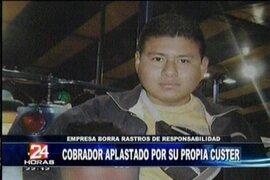 Cobrador de una combi fue la nueva víctima del tráfico limeño