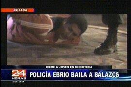 Policía en estado de ebriedad causó desmanes en discoteca de Juliaca