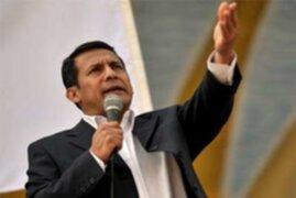 Ollanta Humala reafirmó que dará prioridad a reconstrucción de Pisco en su próximo gobierno