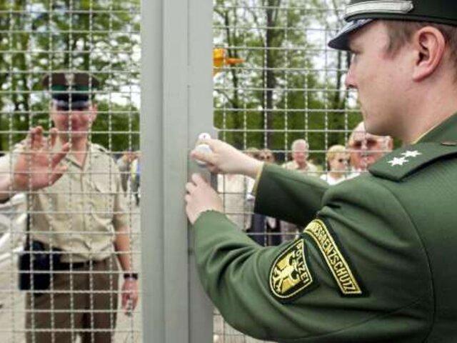 Restablecen controles fronterizos en la Unión Europea