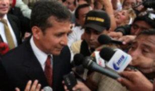 Jefe de Estado electo Ollanta Humala se une a los votos por la recuperación de Hugo Chávez