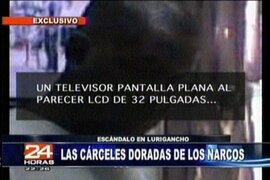 """24 Horas demuestra las comodidades que tienen los """"capos de la droga"""" en el penal de Lurigancho"""