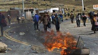 Informe sobre las cuantiosas pérdidas económicas que dejaron las protestas en Puno