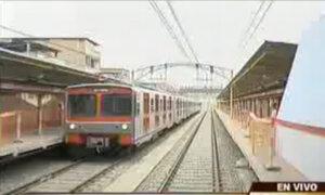 Suspenden servicio del tren eléctrico entre Arriola y Grau tras desperfecto
