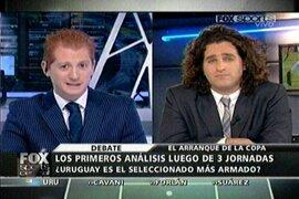 Periodistas de Fox Sports dan a Uruguay como favorito para ganar la Copa América